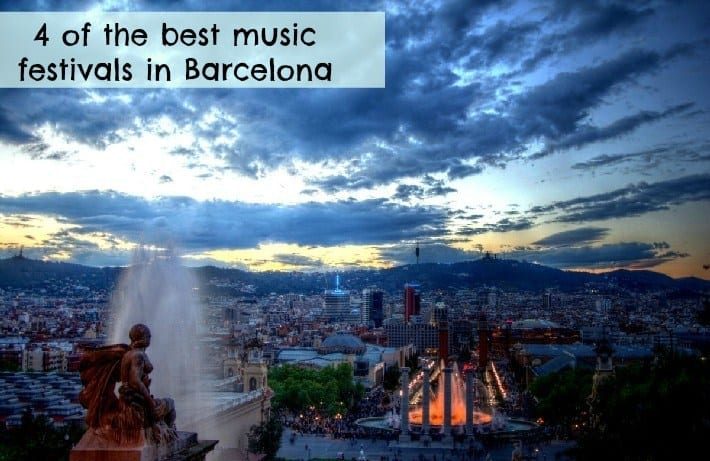 best music festivals in Barcelona