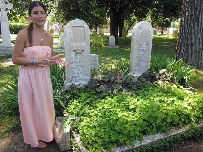 John Keats grave Rome Italy
