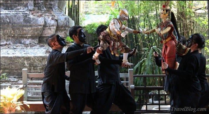 Puppet Show Bangkok Thailand