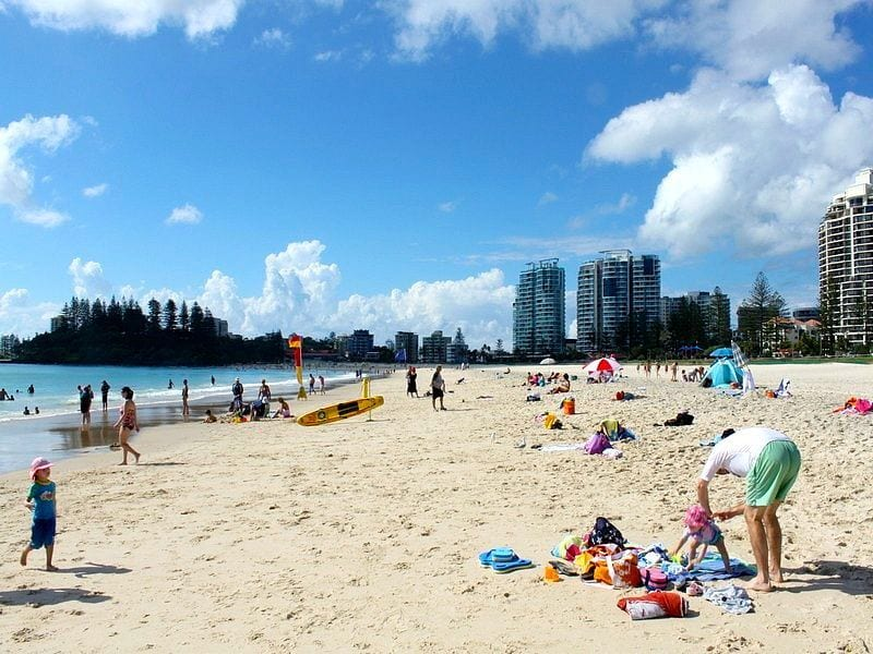 Coolangatta Beach, Queensland, Australia