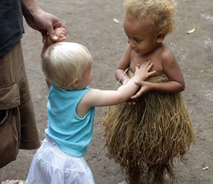 When Savannah Met Alida in a Vanuatu Village