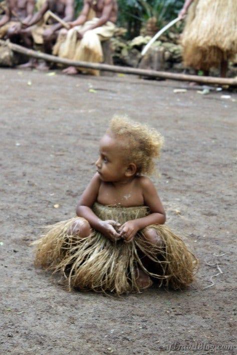 Local Vanuatu girl