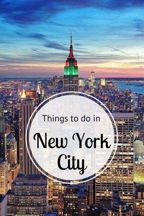 Insider tips on things to do in new york city by a local for Things to see and do in nyc