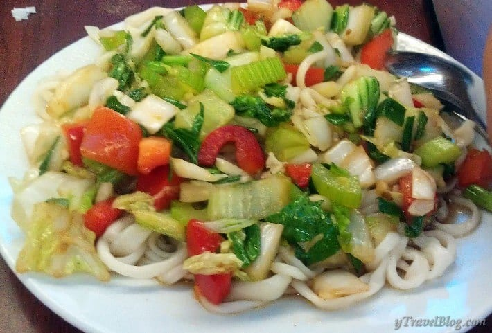 home-made noodles