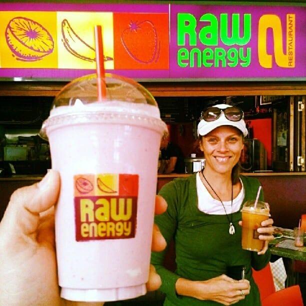 raw energy juice