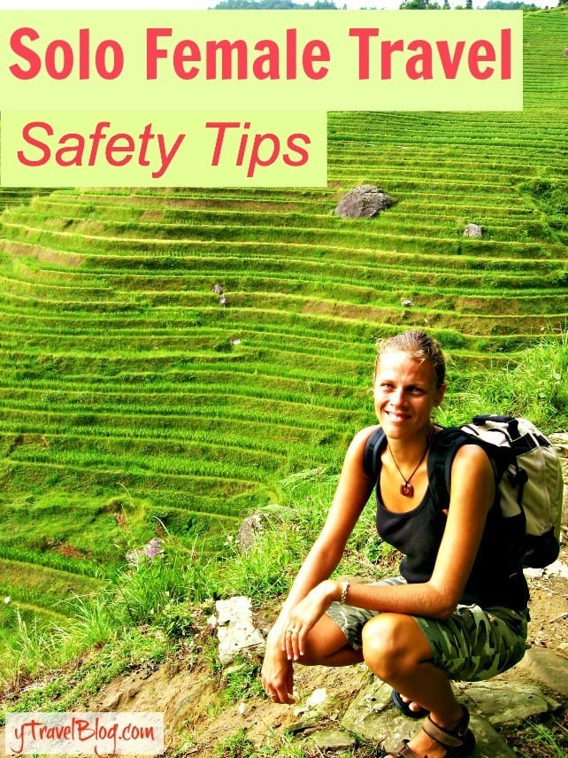 Travel Podcast: Solo female travel safety tips