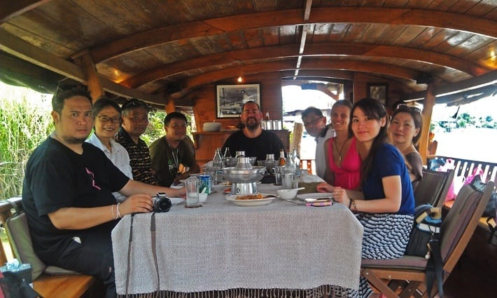 Ayuttaya Boat cruise Thailand