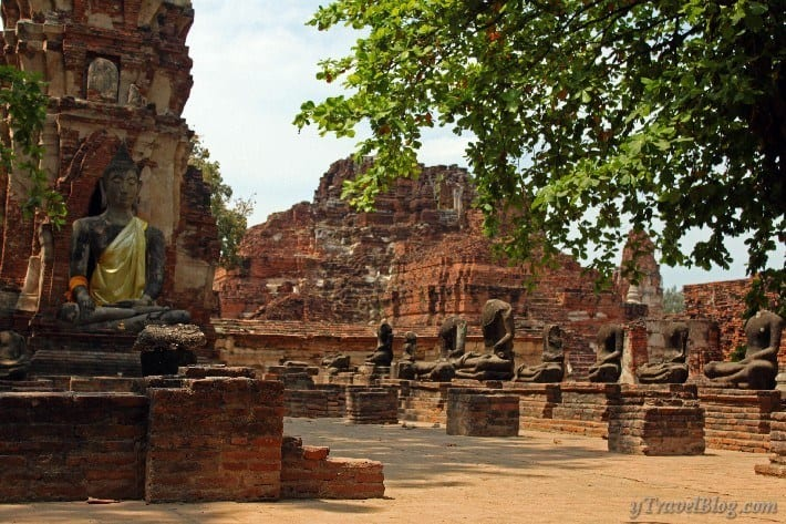 Ayutthaya world heritage site