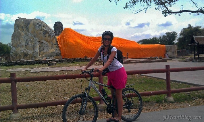 bike tour of Ayutthaya