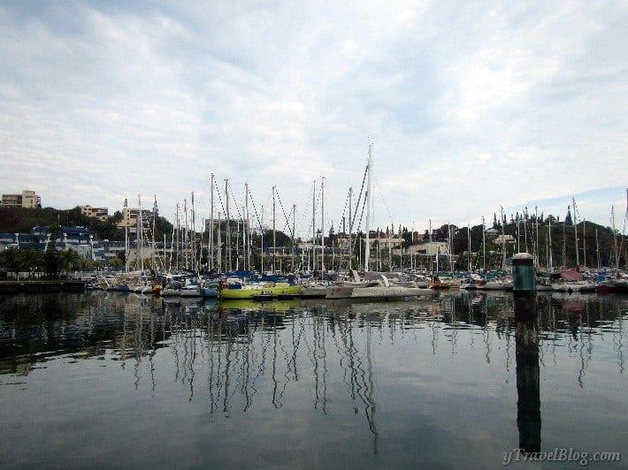 Noumea port
