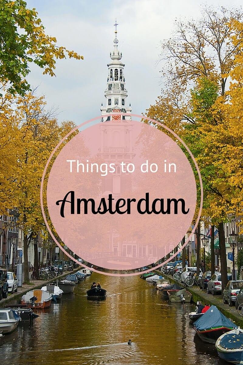 Amsterdam Beautiful Amsterdam With Amsterdam Itinerary