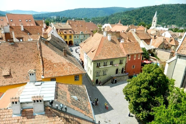 Sighisoara Town Transylvania