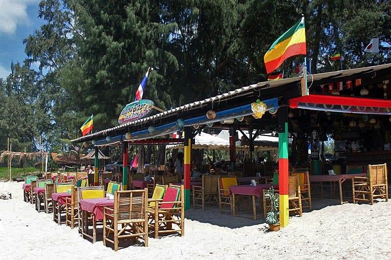 Reggae Bar Layan Beach Phuket Thailand