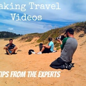 making travel videos