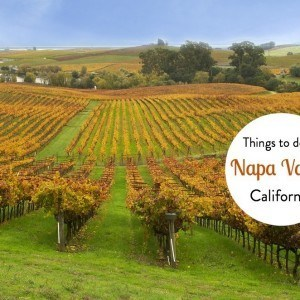 Things to do in the Napa Valley