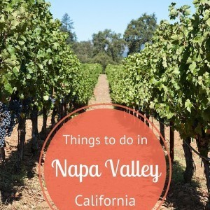 Things to do in Napa Valley, California