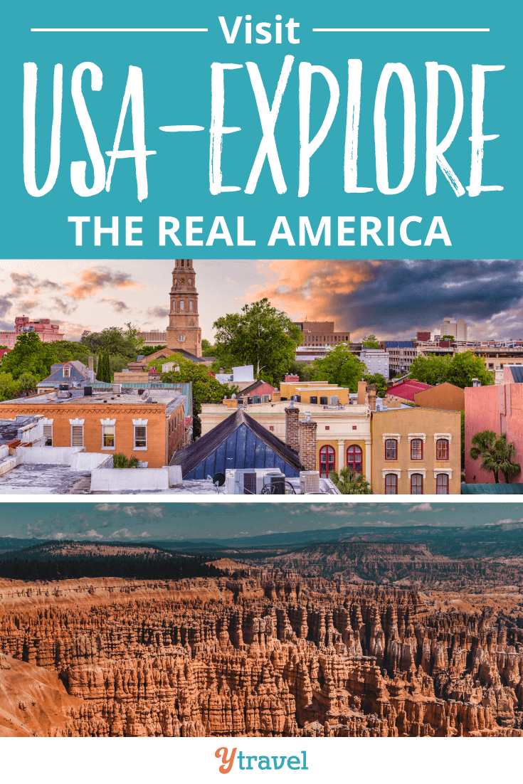 Do you want to visit USA? We're traveling across the states to discover the real America.