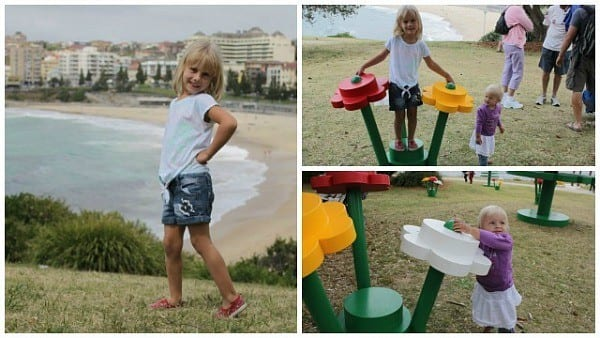 Lego-forest-Coogee-Beach