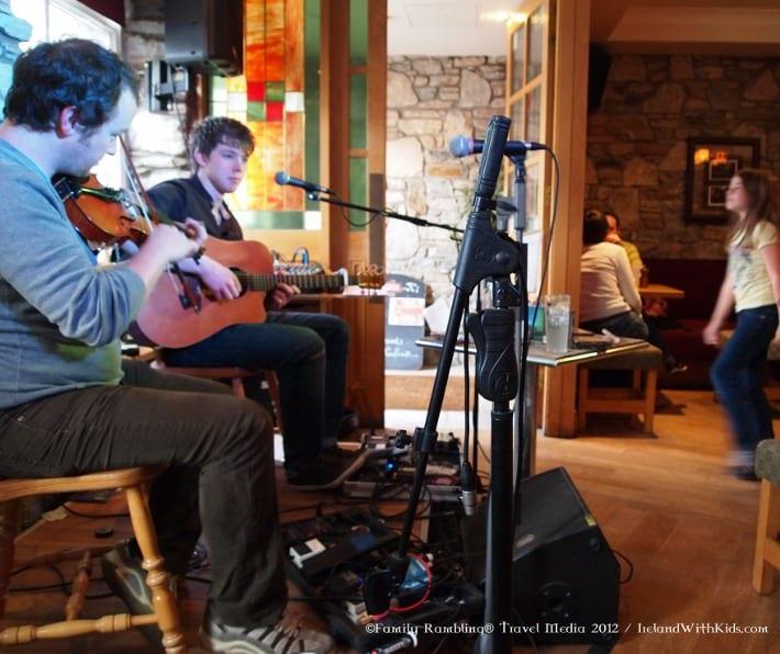 Música en vivo en Clifden 2012