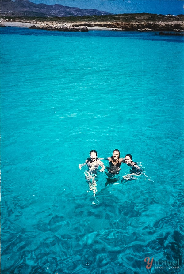 The Blue Lagoon Paros Island Greece