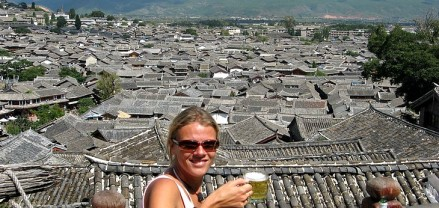 Roof Top Bar, Lijiang, China