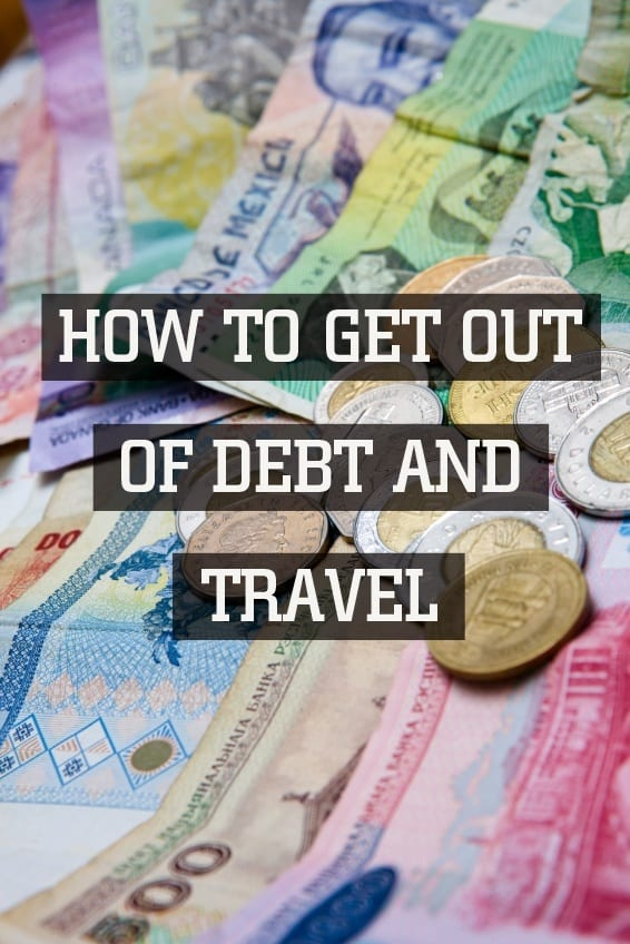 5 tips for getting out of debt so you can travel more