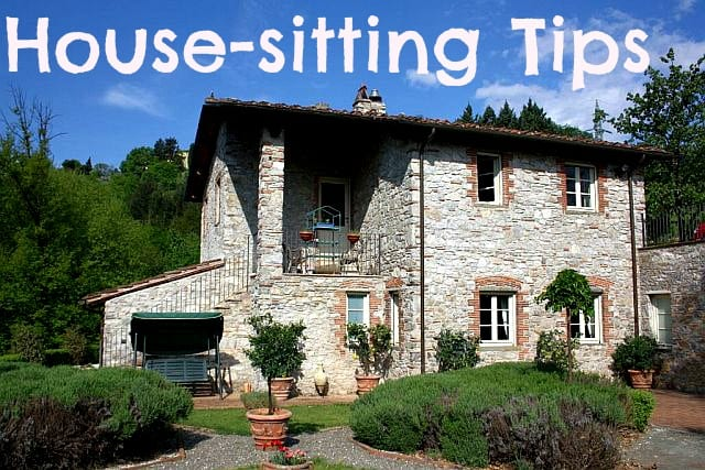 how to get started with house sitting