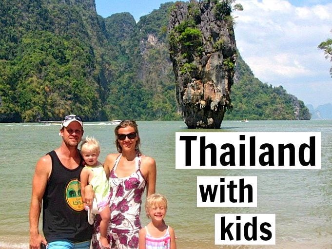 19 Tips for Tavelling to Thailand with Kids
