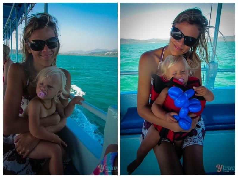 toddler travel in Thailand