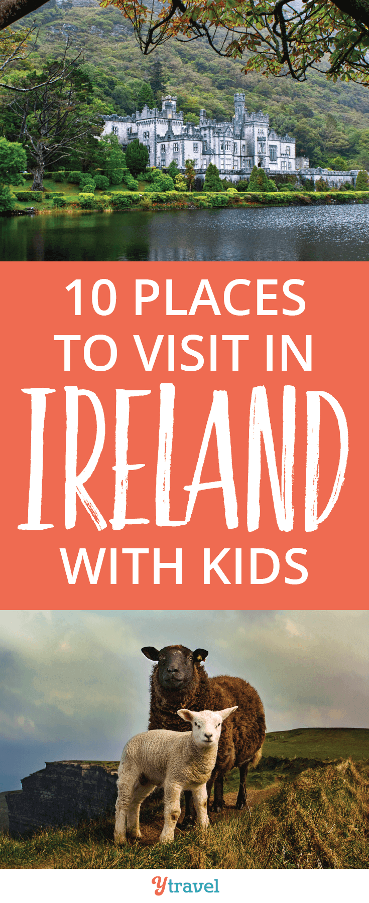 Check out these awesome places to visit in Ireland with kids! Ireland is a great destination for family travel.
