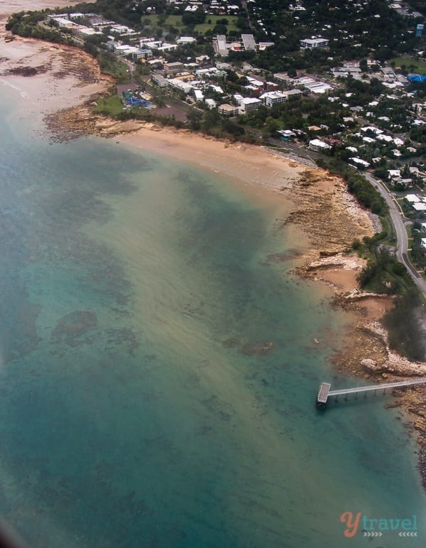 Darwin coastline