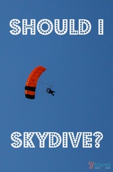 Should I Skydive the Great Barrier Reef?