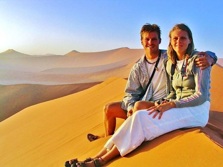 Sossusvlei sand dunes, Namibia 2003