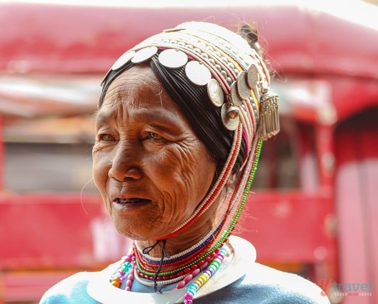 Akha Hill Tribe, Chiang Rai, Thailand