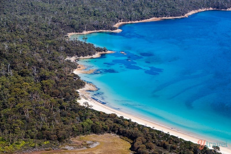 Hazards Beach in Freycinet National Park, Tasmania, Australia
