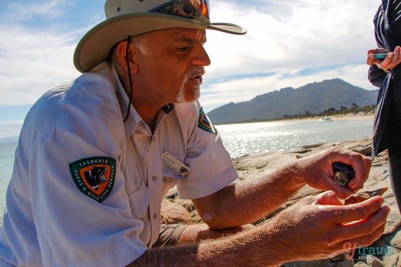 Ranger discovery tours Freycinet Peninsula
