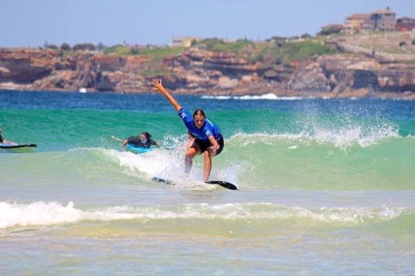 bondi surfing