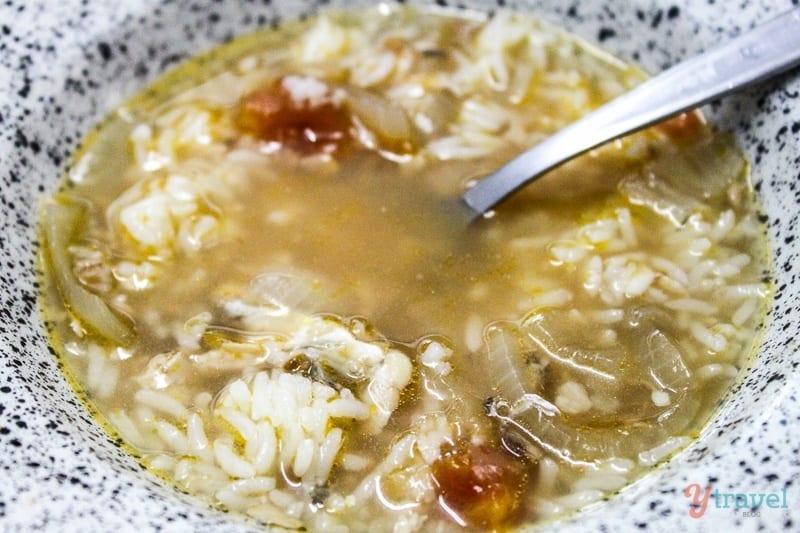 mullet fish soup
