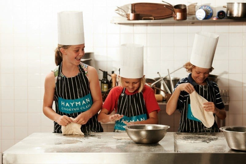 Hayman Island Junior Chef's program