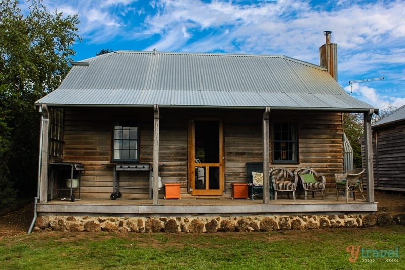 Brickendon accommodation, Brickendon Estate Tasmania, Australia