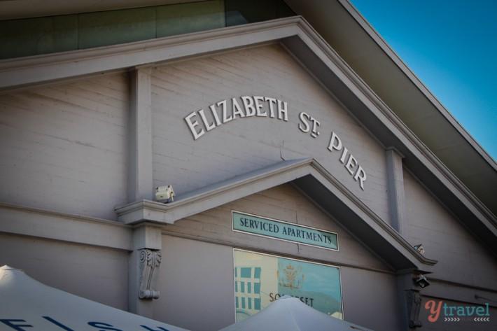 Elizabeth pier Hobart