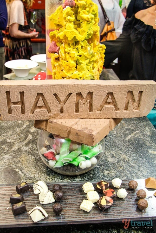 Hayman Island Resort chocolate room, Queensland, Australia