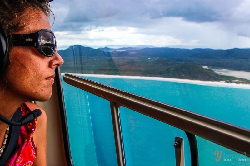 Helicopter Flight, Whitsunday Islands, Australia