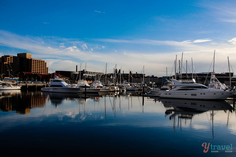 Hobart, Tasmania in Photos - a beautiful city in Australia