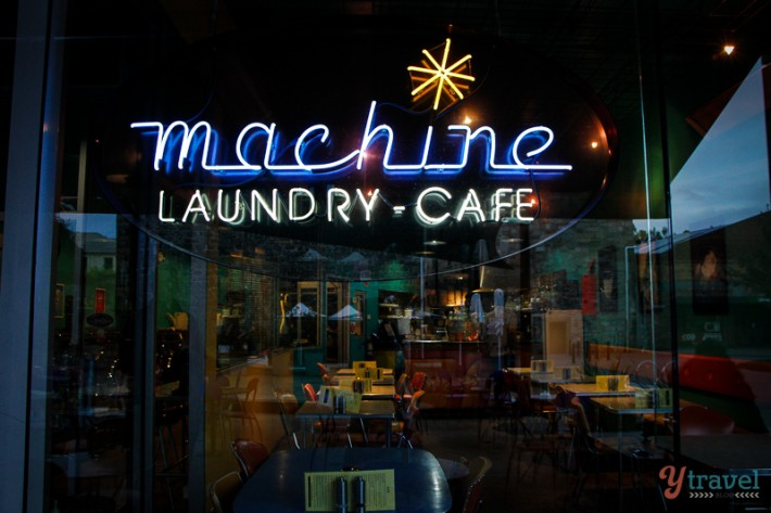 Machine Laundry cafe Hobart, Tasmania, Australia