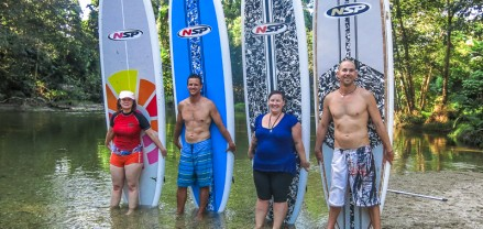 Stand up paddle boarding, Port Douglas, Queensland