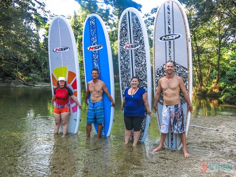 Stand up paddle boarding, Port Douglas, Queensland