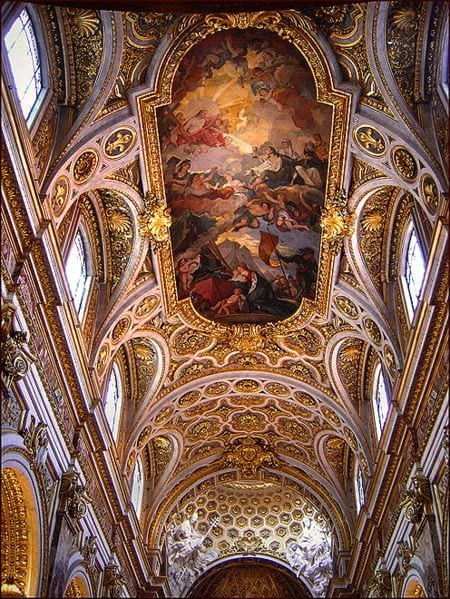 Interior of the Church of San Luigi dei Francesi - Things to see in Rome, Italy