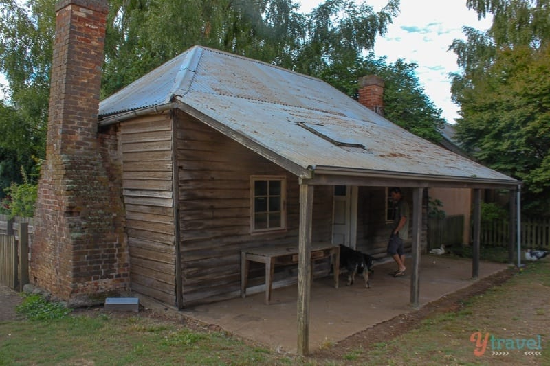 William Archer Cottage, Brickendon Estate Tasmania, Australia