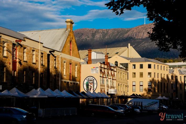 Historical buildings in Hobart, Tasmania, Australia